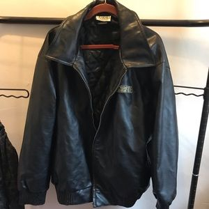 Vintage Scarface Leather Jacket